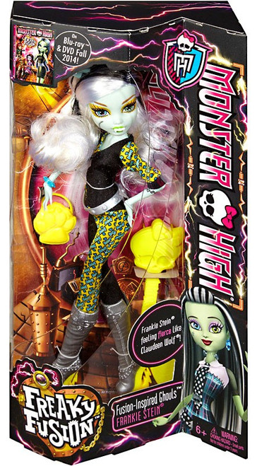 Monster High Freaky Fusion Ghouls Frankie Stein 10.5-Inch Doll
