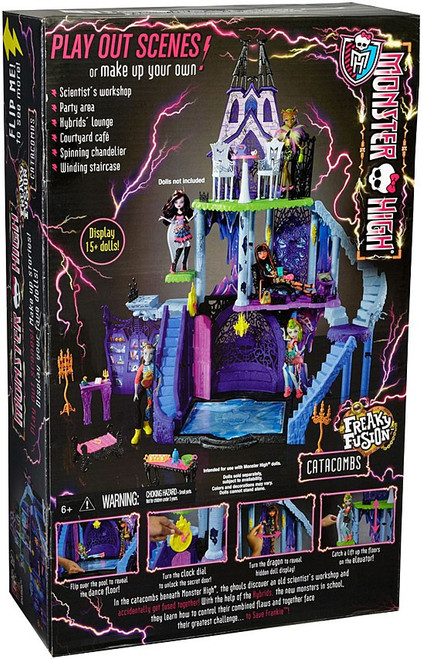 Monster High Freaky Fusion Catacombs 10.5-Inch Doll Playset