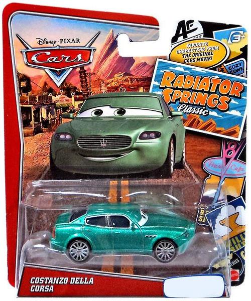 Disney Cars Radiator Springs Classic Costanzo Della Corsa Exclusive Diecast Car