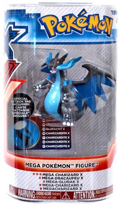 Pokemon XY Mega Figure Series 1 Charizard X 3-Inch Figure