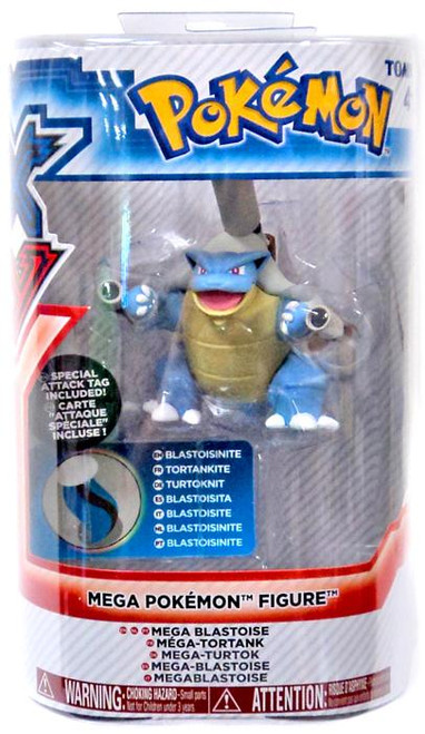 Pokemon XY Mega Figure Series 1 Mega Blastoise 3-Inch Figure