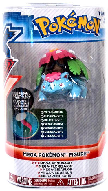 Pokemon XY Mega Figure Series 1 Venusaur 3-Inch Figure