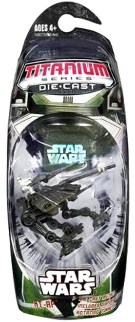 Star Wars The Clone Wars Titanium Series 2006 AT-AP Diecast Vehicle