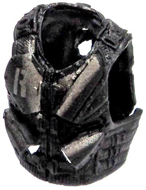 GI Joe Loose Combat Vest with Knife/Blade Sheaths Action Figure Accessory [Black & Silver Loose]