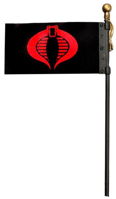 GI Joe Loose Cobra Flag Action Figure Accessory [Loose]