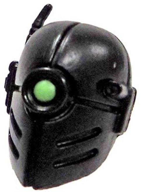 GI Joe Loose Mono-Eye Head Action Figure Accessory [Black Loose]