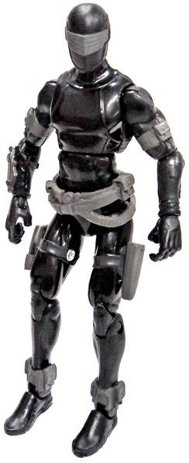 GI Joe Loose Snake Eyes Action Figure [Version 67 Loose]