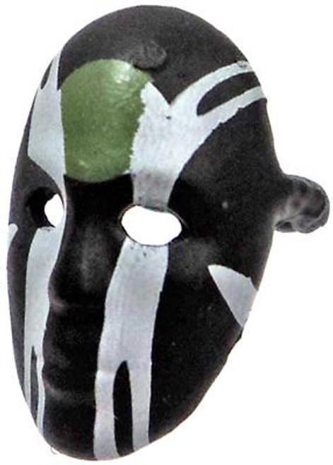 GI Joe Loose Face Mask Action Figure Accessory [Black, Green & White Loose]