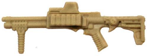 GI Joe Loose Weapons Tactical Shotgun Action Figure Accessory [Tan Loose]