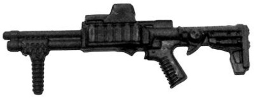 GI Joe Loose Weapons Tactical Shotgun Action Figure Accessory [Black Loose]