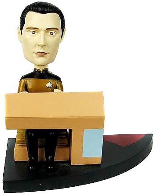 Star Trek The Next Generation Build a Bridge Data 7-Inch Bobble Head