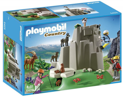 Playmobil Country Rock Climbers with Mountain Animals Set #5423