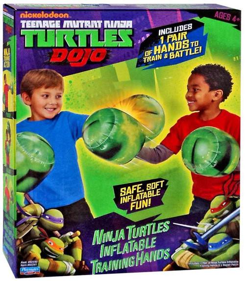 Teenage Mutant Ninja Turtles Nickelodeon Inflatable Training Hands Roleplay Toy
