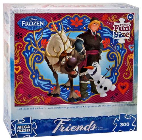 Disney Frozen Olaf, Sven & Kristoff 300 Pieces Puzzle [300 Pieces]