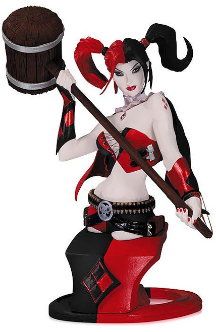 DC The New 52 Super Villains Harley Quinn 6-Inch Bust [2nd Edition]