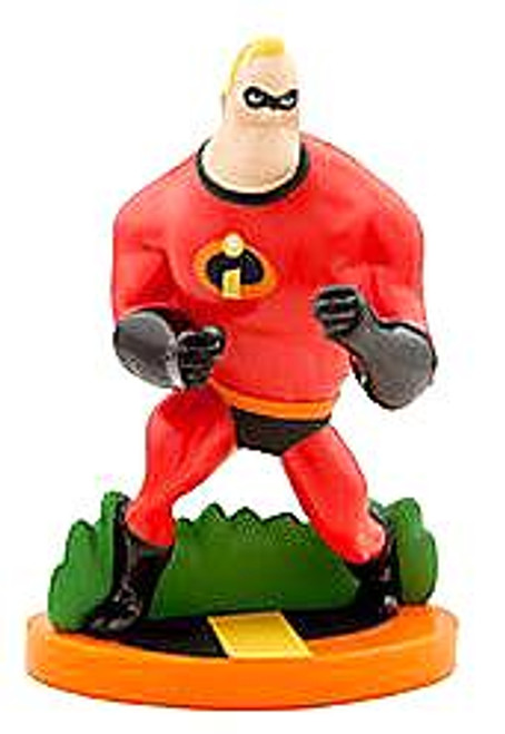 Disney / Pixar The Incredibles Mr. Incredible Exclusive 3.5-Inch PVC Figurine [Loose]
