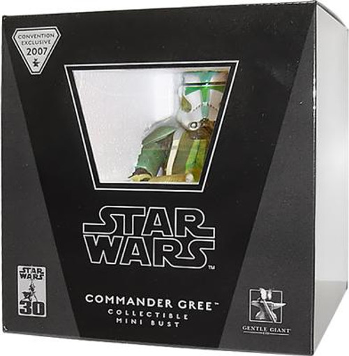 Star Wars Mini Busts Commander Gree Exclusive Mini Bust