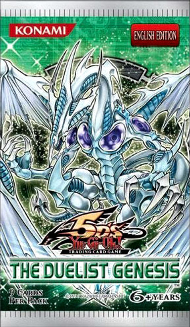 YuGiOh The Duelist Genesis Booster Pack