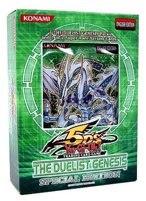 YuGiOh Duelist Genesis Special Edition Pack [3 Booster Packs & 1 Random Promo Card] [Sealed]