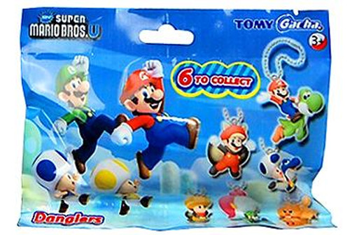 New Super Mario Bros U Danglers 1-Inch Mystery Pack