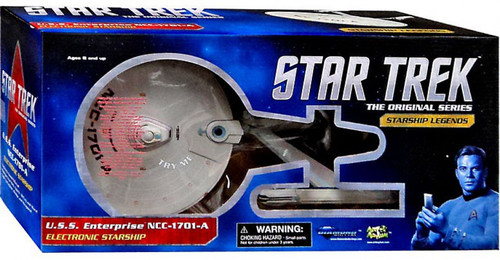 Star Trek The Undiscovered Country Ship Replica Enterprise A Electronic Toy