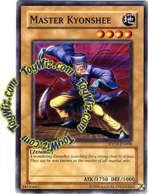 YuGiOh Structure Deck: Zombie World Common Master Kyonshee SDZW-EN008