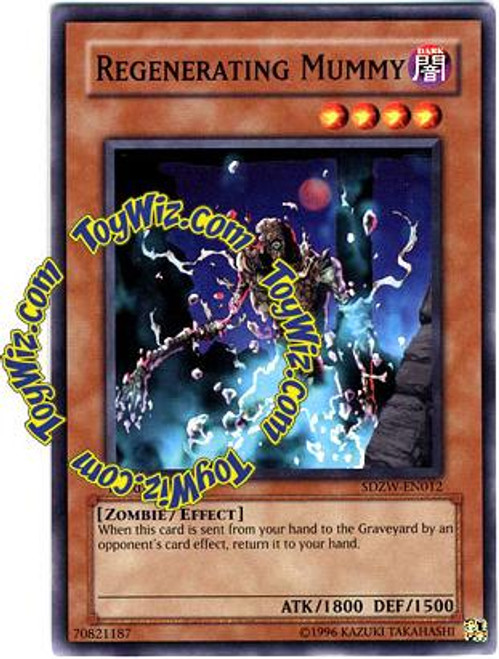 YuGiOh Structure Deck: Zombie World Common Regenerating Mummy SDZW-EN012