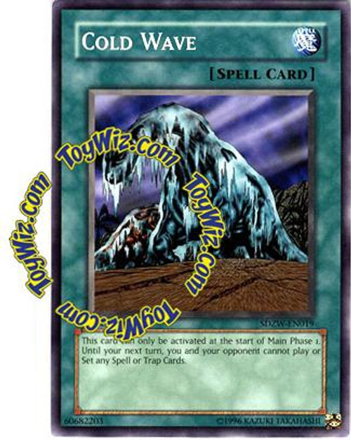 YuGiOh Structure Deck: Zombie World Common Cold Wave SDZW-EN019