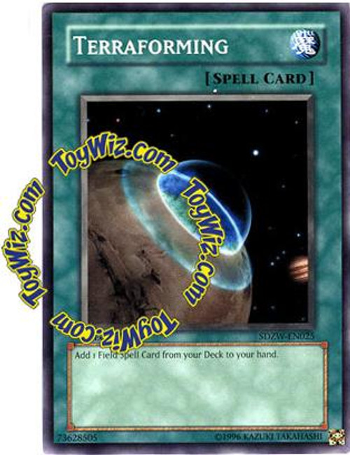 YuGiOh Structure Deck: Zombie World Common Terraforming SDZW-EN025