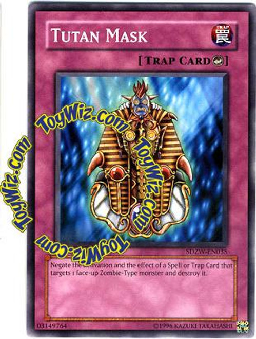 YuGiOh Structure Deck: Zombie World Common Tutan Mask SDZW-EN035