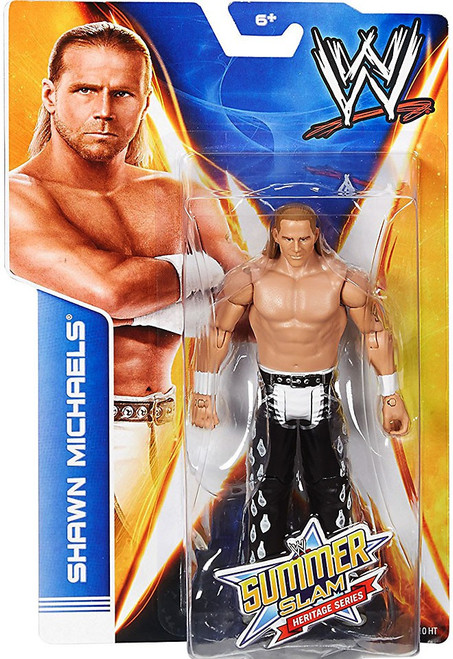 WWE Wrestling Summer Slam Heritage Series Shawn Michaels Action Figure