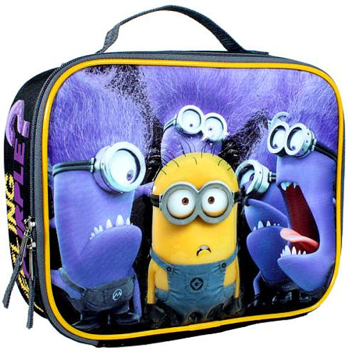 Despicable Me Minion Made Feeling Purple? 5-Inch Lunch Bag