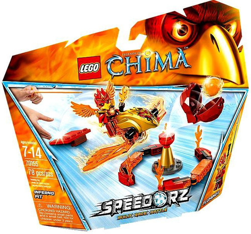 LEGO Legends of Chima Inferno Pit Set #70155