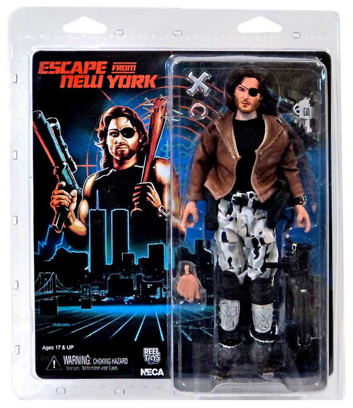 NECA Escape From New York Snake Plisskin Clothed Action Figure