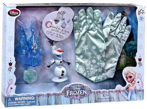 Disney Frozen Elsa Winter Gloves Play Set Exclusive Dress Up Toy
