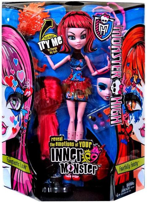 Monster High Inner Monster Fangtastic Love & Fearfully Feisty 10.5-Inch Doll