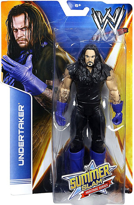 WWE Wrestling Summer Slam Heritage Series Undertaker Action Figure
