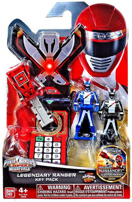 Power Rangers Super Megaforce Legendary Ranger Key Pack Roleplay Toy [Operation Overdrive]