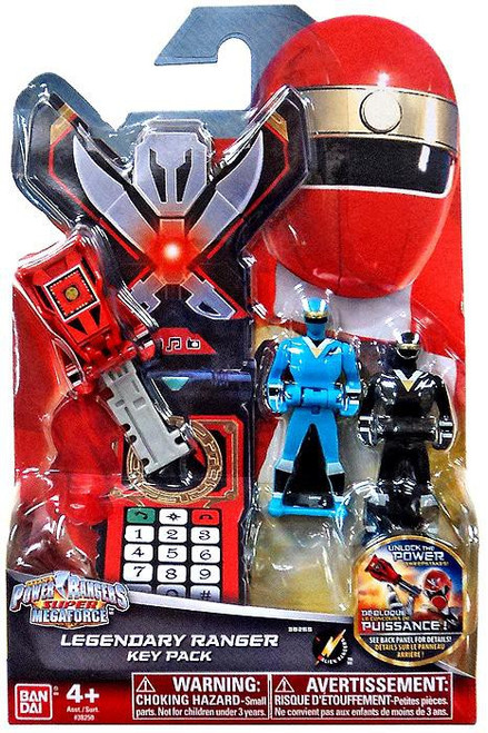 Power Rangers Super Megaforce Legendary Ranger Key Pack Roleplay Toy [Alien Rangers]