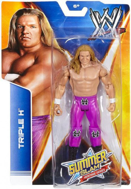 WWE Wrestling Summer Slam Heritage Series Triple H Action Figure [Purple Pants]