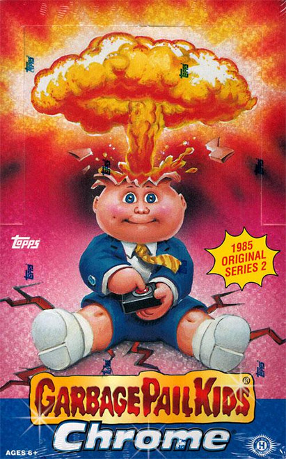 Garbage Pail Kids 2014 Chrome Hobby Edition Trading Card Box [24 Packs]