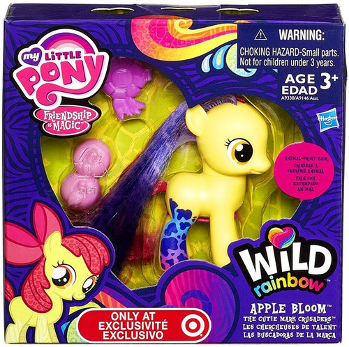 My Little Pony Friendship is Magic Wild Rainbow Apple Bloom Exclusive Figure