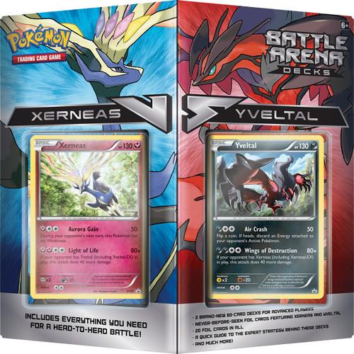 Yveltal And Xerneas Battle