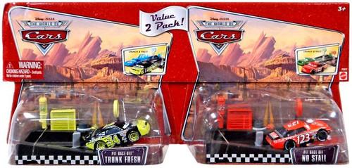 Disney Cars Trunk Fresh & No Stall Diecast Car 2-Pack #34 & 123