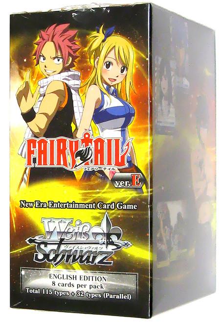 Weiss Schwarz Fairy Tail Ver.E Booster Box [20 Packs]