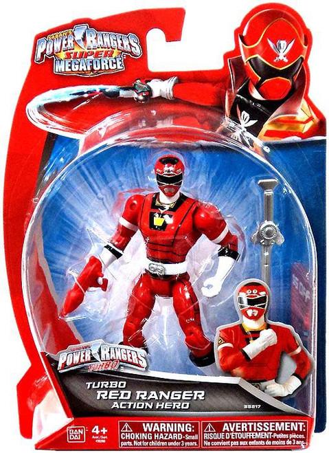 Power Rangers Super Megaforce Turbo Red Ranger Action Figure