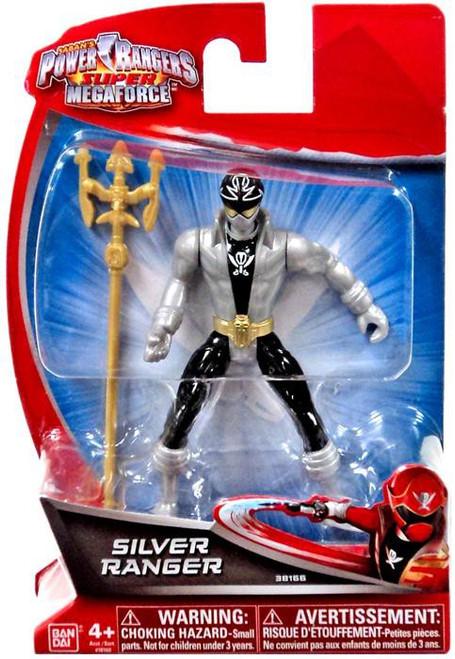Power Rangers Super Megaforce Silver Ranger Action Figure