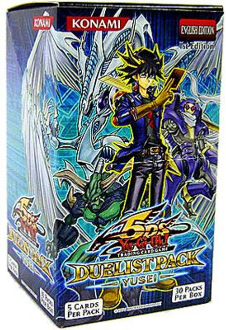 YuGiOh Duelist Pack Yusei Booster Box [Sealed]