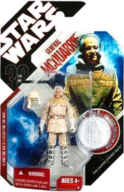 Star Wars Empire Strikes Back 30th Anniversary 2007 Wave 6 General McQuarrie Action Figure #40
