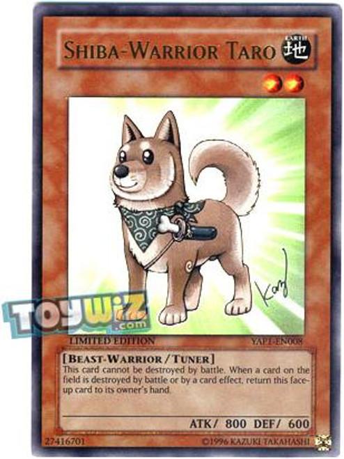 YuGiOh 10th Anniversary Pack Ultra Rare Shiba-Warrior Taro YAP1-EN008